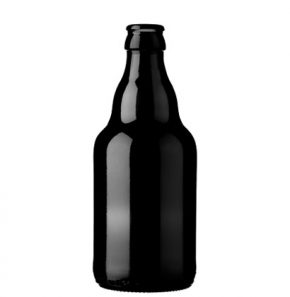 Beer bottle crown 33cl Steine Black (MW)