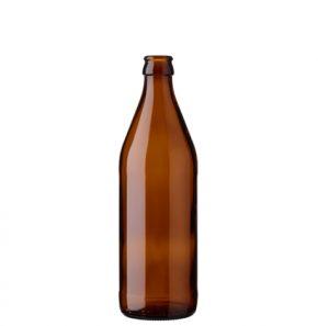 Beer bottle crown 50cl Euro brown