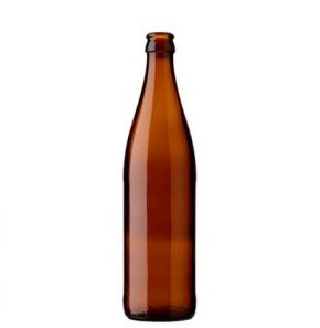 Beer bottle crown 50cl NRW brown (MW)