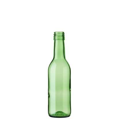 Bordeaux wine bottle BVS 25 cl green