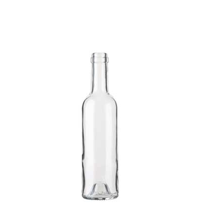Bordeaux wine bottle cetie 37,5 cl white