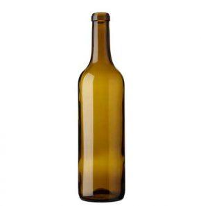 Bordeaux wine bottle cetie 70cl oak