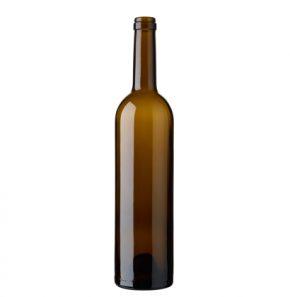 Bordeaux wine bottle cetie 75cl oak Exception