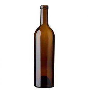 Bordeaux wine bottle cetie 75cl oak Sommelière