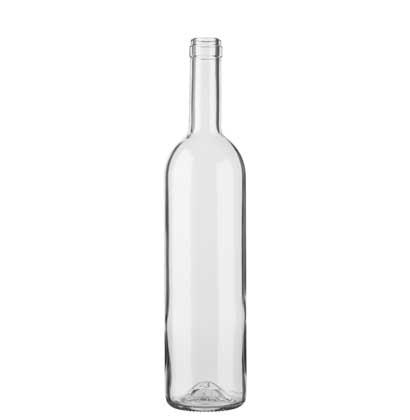 Bordeaux wine bottle cetie 75cl white Harmonie