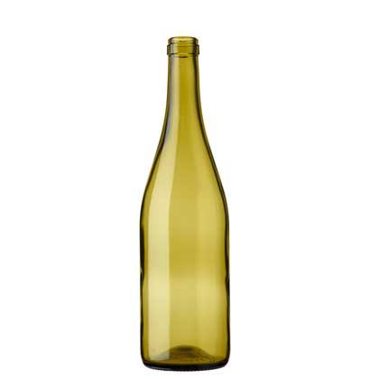 Burgundy wine bottle 75 cl russet Combi