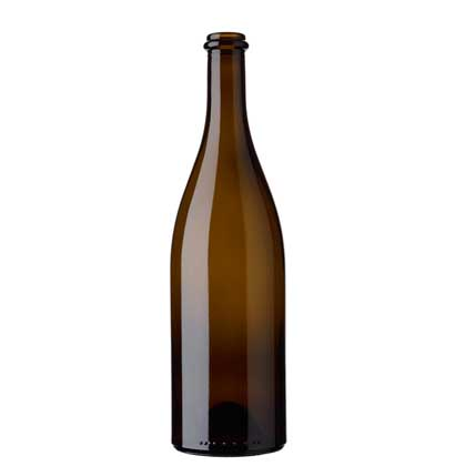 Burgundy wine bottle Anello 75 cl antique Neuchâteloise