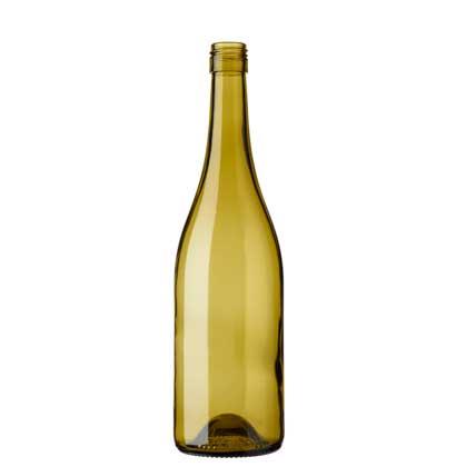 Burgundy wine bottle BVS 75 cl russet