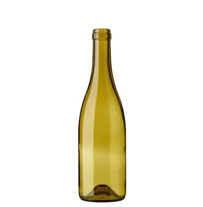 Burgundy wine bottle cetie 50 cl russet