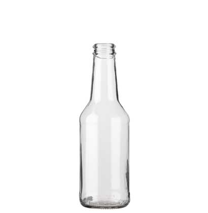 Juice bottle crown 25cl Christmas white
