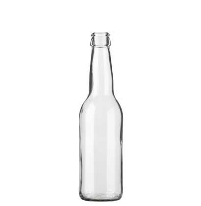 Juice bottle crown 33cl Long Neck white