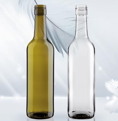 Nuova bottiglia di vino Fifty Light