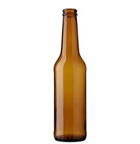 Beer bottle crown 33cl PIVO Long Neck brown