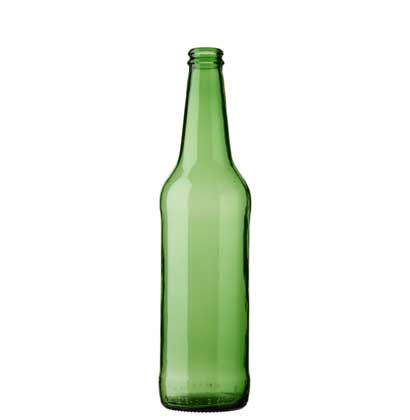 Beer bottle crown 50cl PIVO Long Neck green