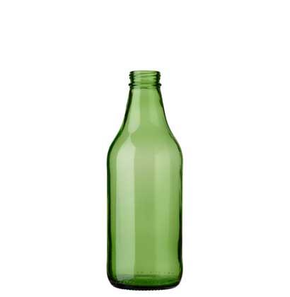 Beer bottle screw crown CH3 33cl green