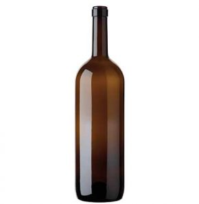 Bordeaux Magnum wine bottle cetie 150 cl antique Golia