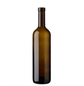 Bordeaux wine botlle bartop 70cl antique Tradition
