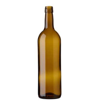 Bordeaux wine bottle BVS 75 cl oak
