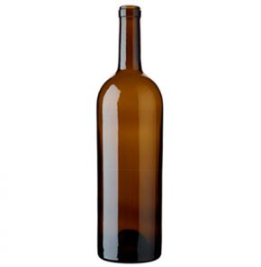 Bordeaux wine bottle cetie 150 cl oak Magnum