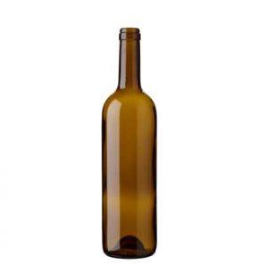 Bordeaux wine bottle cetie 70cl oak Prestige