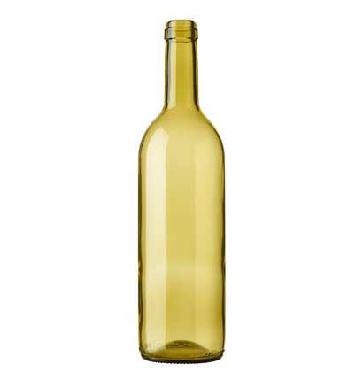 Bordeaux wine bottle cetie 75cl russet