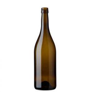 Burgundy wine bottle BVS28H60 75cl antique Tradition