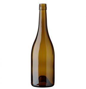 Burgundy wine bottle BVS30H60 75 cl oak Elegance