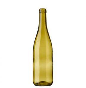 Burgundy wine bottle cetie 70 cl russet