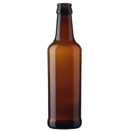 Craft Beer beer bottle crown 33cl 912 brown
