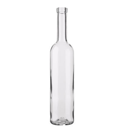 Futura Bordeaux wine bottle bartop 70 cl white