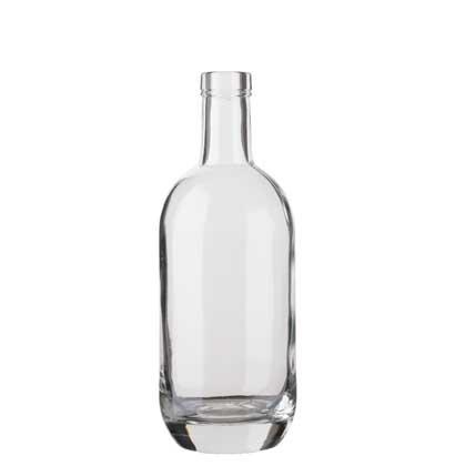 Gin bottle bartop 50cl white Moonea