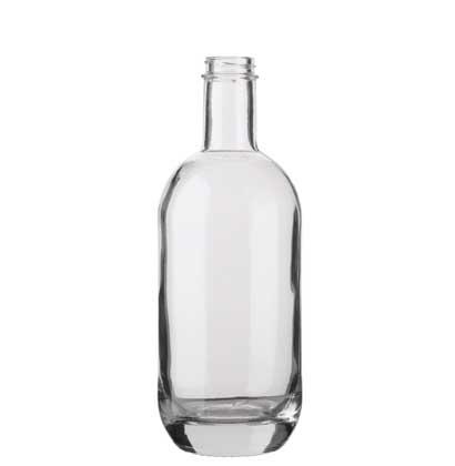Gin bottle GPI 400-33 70cl white Moonea