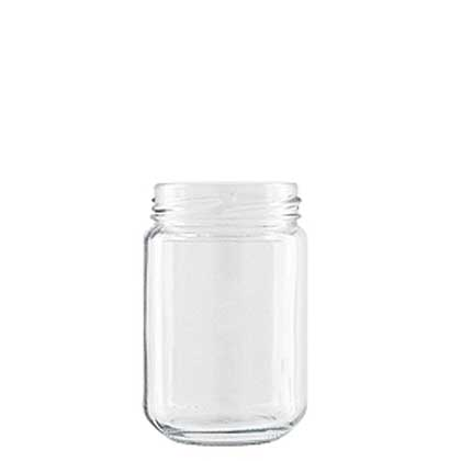 Jar 156 ml white TO53 CEE