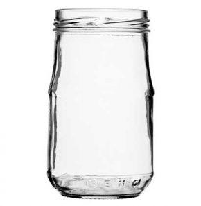 Jar 212 ml white TO58 Atlas