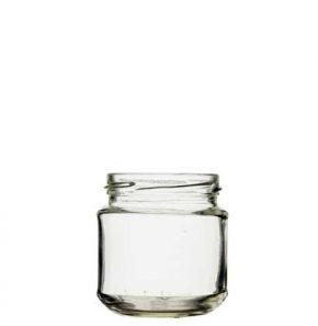 Jar 212 ml white TO66
