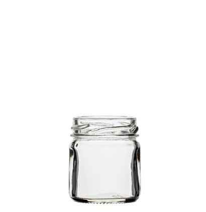 Jar 41 ml white TO43