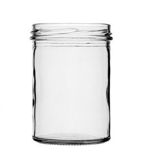 Jar 435 ml TO82 white