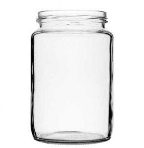 Jar 770 ml white TO82