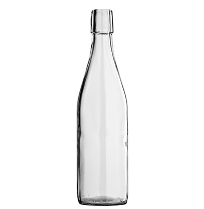 Limonata Swing top Juice bottle 50 cl white Maurer