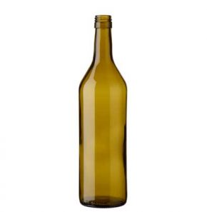 Vaud wine bottle BVS 75 cl oak