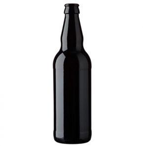 Beer bottle crown 50cl Long Neck Black