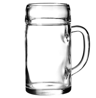 Beer glass Styria mug 1.2l 10dl sealed