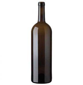 Bordeaux Magnum wine bottle cetie 1.5 l antique Prestige