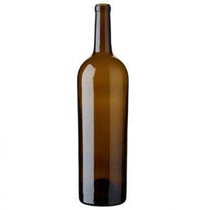 Bordeaux wine bottle cetie 1.5 l oak Magnum Elegance