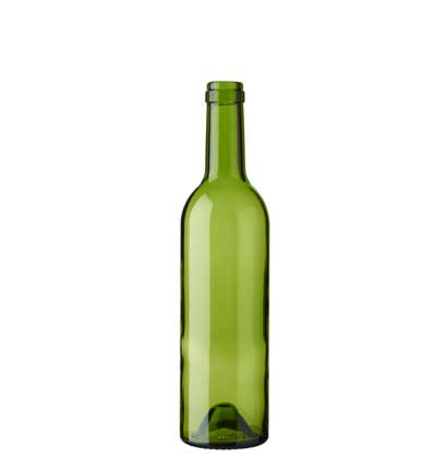 Bordeaux wine bottle cetie 50cl green