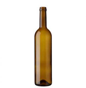 Bordeaux wine bottle cetie 75cl oak Harmonie