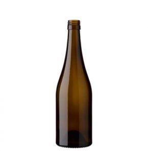 Burgundy wine bottle BVS 50 cl antique Classique