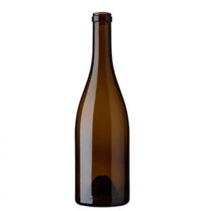 Burgundy wine bottle cetie 75 cl oak Flacon Ecova
