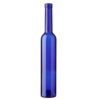 Futura Bordeaux wine bottle bartop 50 cl Royal blue
