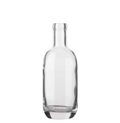 Gin bottle bartop 35cl white Moonea